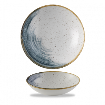 Stonecast Accents Blueberry coupe bowl 18,2 cm