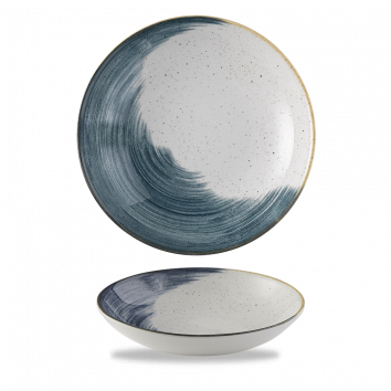 Stonecast Accents Blueberry coupe bowl 24,8 cm