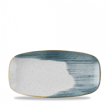 Stonecast Accents Blueberry chef`s oblong plate 29,8 X 15,3 cm