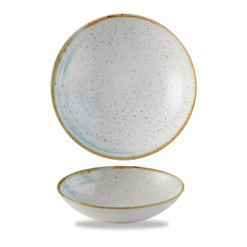 Stonecast Accents Duck Egg Blue coupe bowl 18,2 cm
