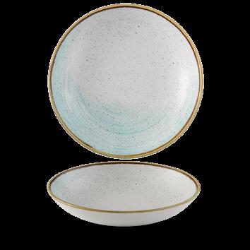 Stonecast Accents Duck Egg Blue coupe bowl 24,8 cm