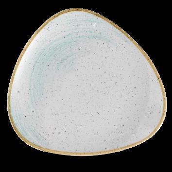 Stonecast Accents Duck Egg Blue triangle bord 26,5 cm
