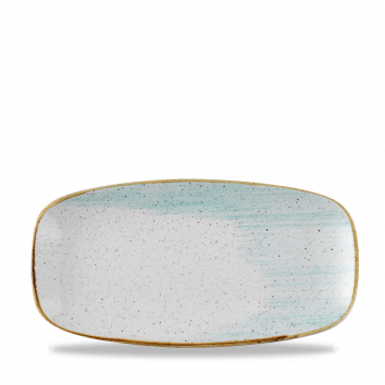 Stonecast Accents Duck Egg Blue chef`s oblong plate 29,8 X 15,3 cm
