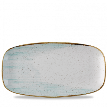 Stonecast Accents Duck Egg Blue chef`s oblong plate 35,5 x 18.9 cm