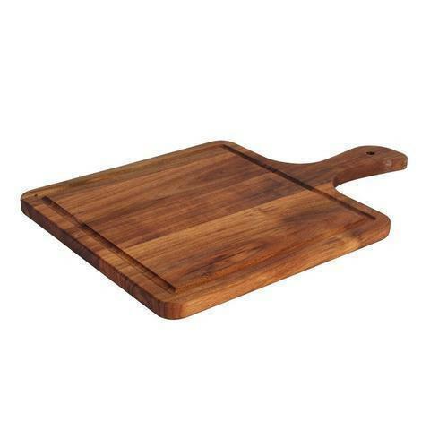 plank met handvat acacia 37,4 x 25 x 1,5(h) cm
