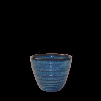 Churchill Bit on the Side ripple sapphire chip mug 28 cl