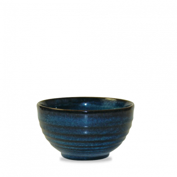 Churchill Bit on the Side ripple sapphire bowl 56 cl