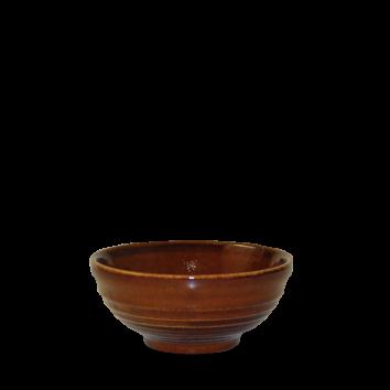 Churchill Bit on the Side ripple cinnamon snack bowl 28 cl