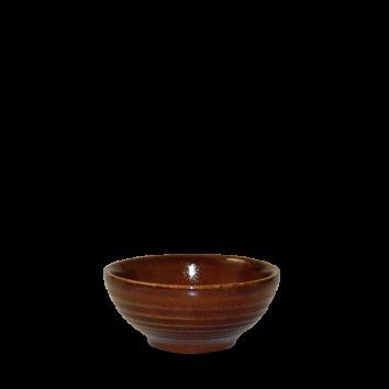 Churchill Bit on the Side ripple cinnamon snack bowl 17 cl