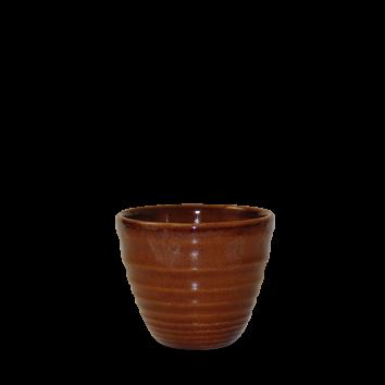 Churchill Bit on the Side ripple cinnamon chip mug 28 cl