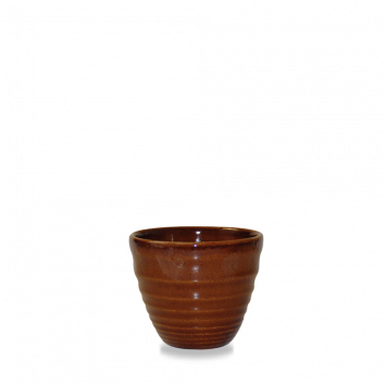 Churchill Bit on the Side ripple cinnamon dip pot 11 cl