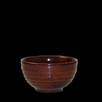 Churchill Bit on the Side ripple cinnamon bowl 56 cl