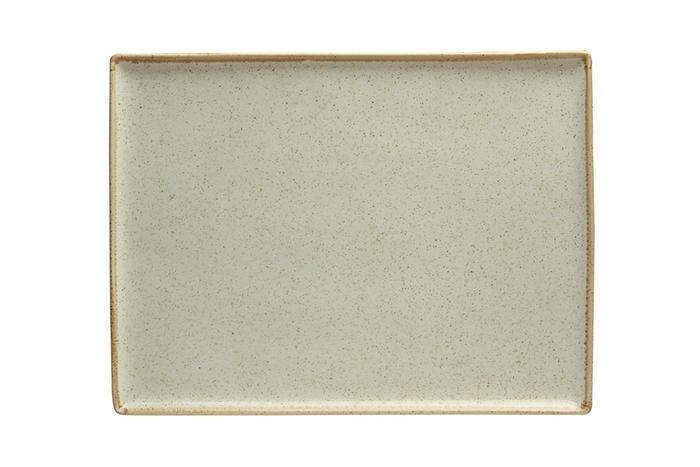 Porland Seasons Beige oblong bord 18 x 13 cm