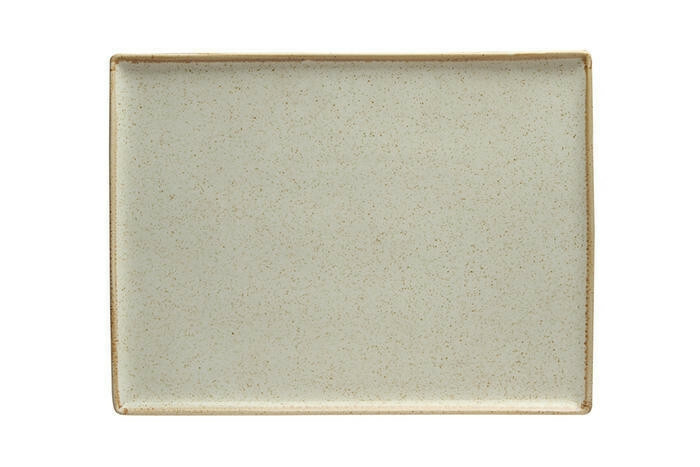 Porland Seasons Beige oblong bord 35 x 25 cm
