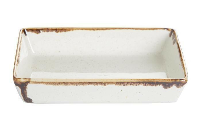 Porland Seasons Beige mezze schaaltje rechthoek 13 x 10 cm