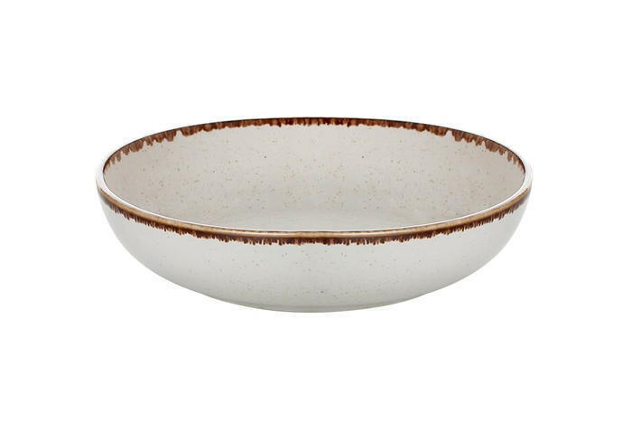 Porland Seasons Beige bowl laag 17 cm 41,5 cl
