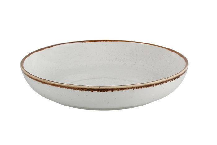 Porland Seasons Beige bowl laag 22 cm 83,5 cl