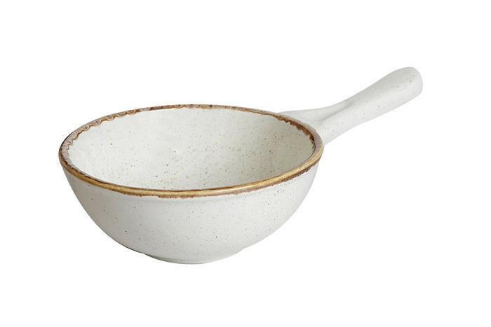 Porland Seasons Beige bowl met steel 16 cm