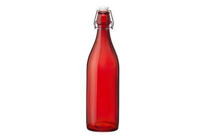 Bormioli Rocco Giara waterfles rood  spray1 Ltr