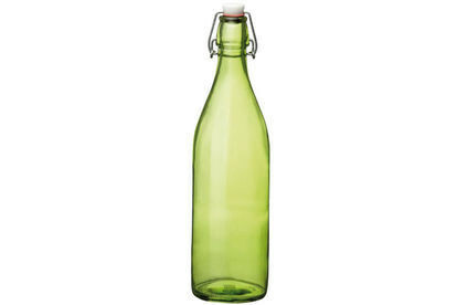 Bormioli Rocco Giara waterfles groen spray 1 Ltr