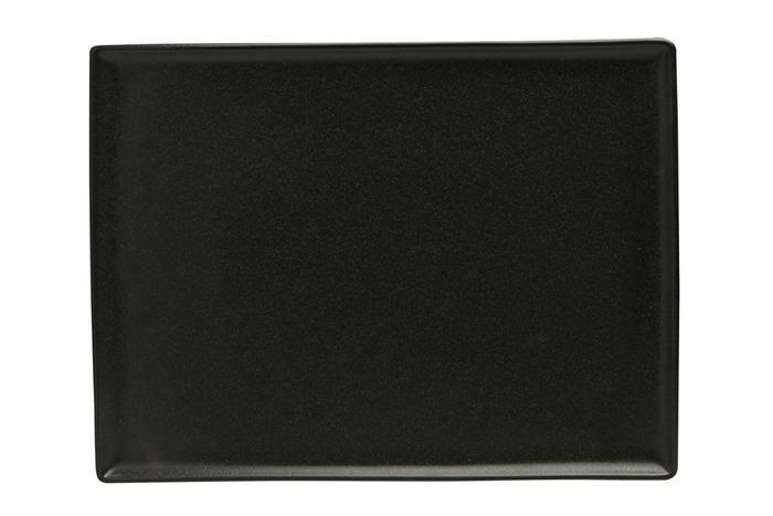 Porland Seasons Black oblong bord 35 x 25 cm