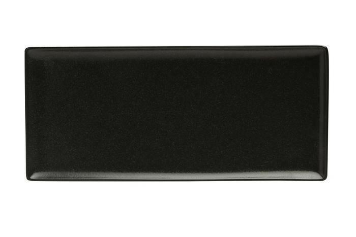 Porland Seasons Black oblong bord 35 x 16 cm