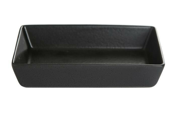 Porland Seasons Black mezze schaaltje rechthoek 13 x 10 cm