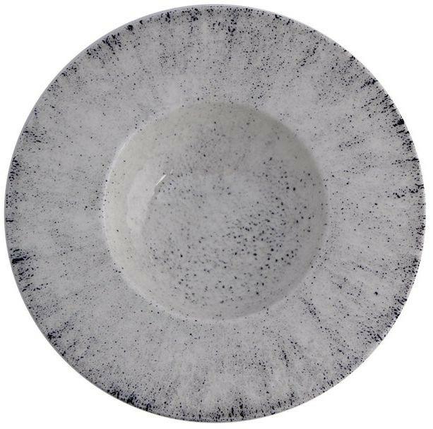 Porland Blizzard bord diep brede rand 28 cm