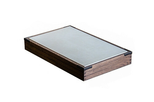 Chestnut frame for cooling tray 1/1 GN 56 x 35,5 x 9(h) cm