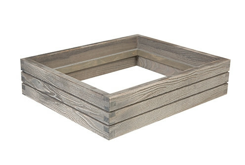 Driftwood frame for cooling tray 1/2 GN 36 x 29,5 x 8,4(h) cm