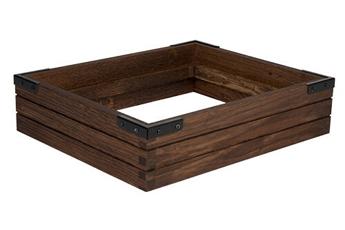Chestnut frame for cooling tray 1/2 GN 36 x 29,5 x 8,4(h) cm