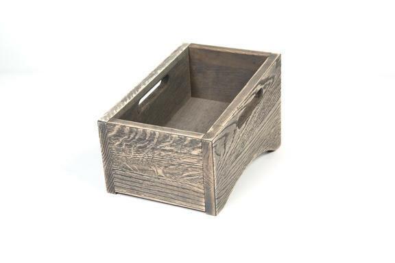 Driftwood cutlery box single 28,5 x 16,3 cm