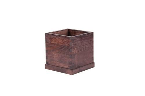 Black table caddy 10 x 10 x 13(h) cm
