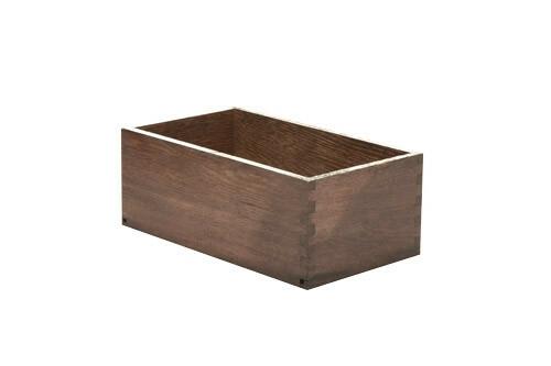 Black cutlery box 26 x 15 x 10(h) cm