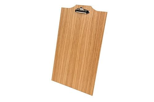Oak linoil menu board A5 25 x 16 cm