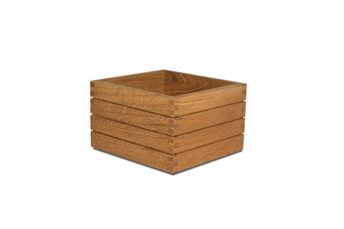 Black buffet box 20 x 20 x 15,8(h) cm