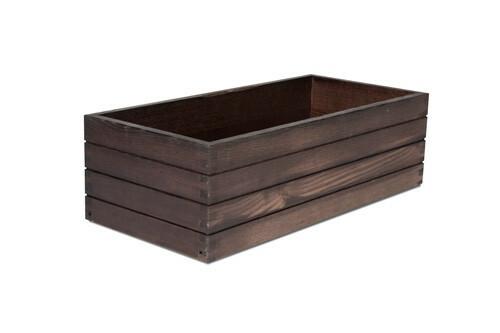 Black riser box 53 x 25 x 16(h) cm
