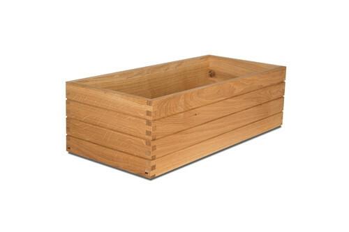 Oak Linoil riser box 53 x 25 x 16(h) cm