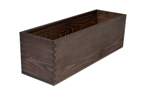 Black riser box 47 x 15 x 14,8(h) cm