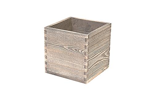 Driftwood table caddy 15 x 15 x 15(h) cm