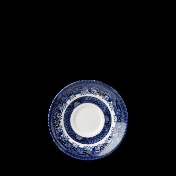 Churchill Vintage Blue Willow Georgian saucer 14,1 cm