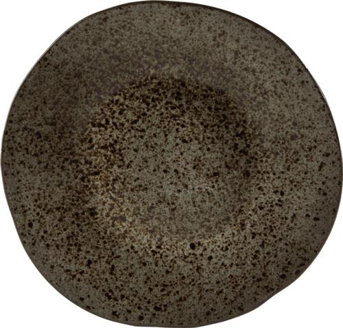 Q Authentic Stoneblack bord plat 28,5 cm