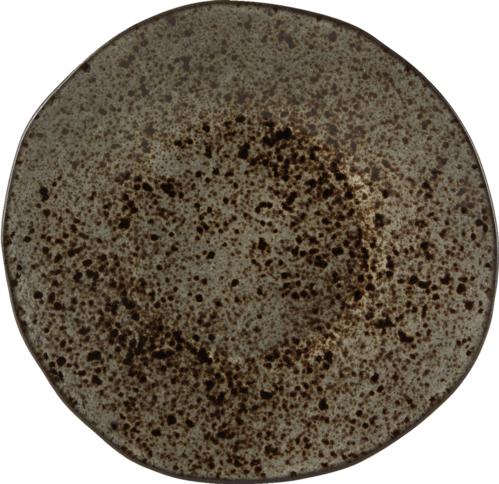Q Authentic Stoneblack bord plat 21 cm