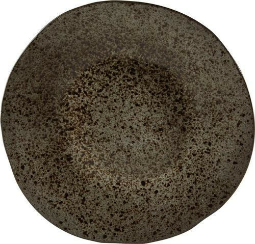 Q Authentic Stoneblack bord plat 31,5 cm