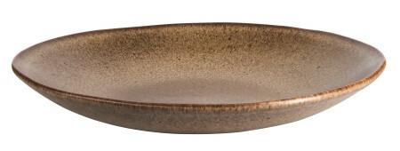 Q Authentic Stonebrown bord diep 26,5 cm