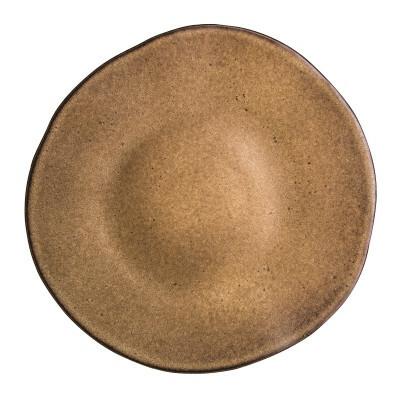 Q Authentic Stonebrown bord plat 28,5 cm