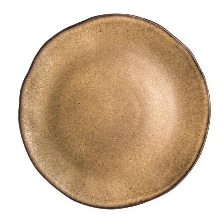 Q Authentic Stonebrown bord plat 31,5 cm