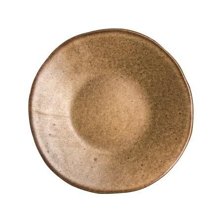 Q Authentic Stonebrown bord plat 16 cm