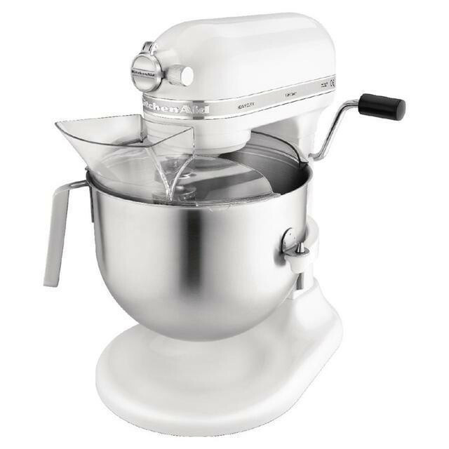KitchenAid K7 professionele mixer-keukenrobot 6,9 Ltr wit