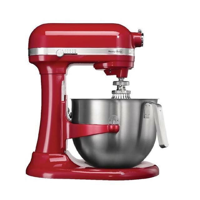 KitchenAid K7 professionele mixer-keukenrobot 6,9 Ltr rood